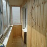 Обшивка пола, стен, потолка деревянной вагонкой