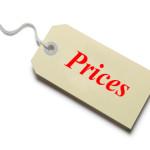 Цены на работы