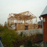 Сооружение каркаса мансардной крыши