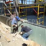 Процесс устройства вентилируемого фасада