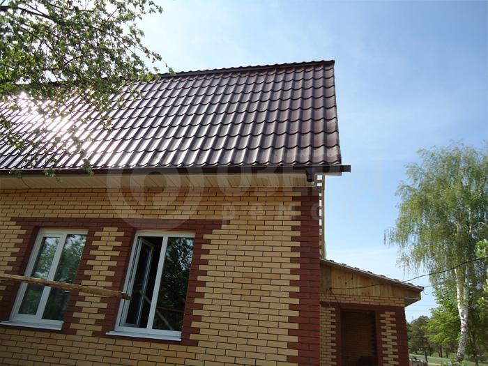 Крыша покатная